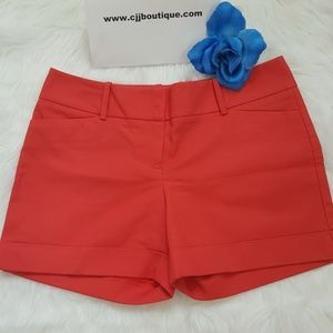 NWT BEAUTIFUL THE LIMITED CORAL WOMENS SHORTS SZ 8